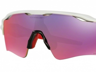 Oakley Radar EV Path Polished White Frame Prizm Road Lens